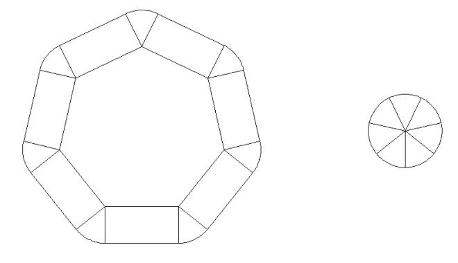 polyhedral circles